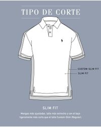 Polo Ralph Lauren - Gray Grey Short Sleeved Slim-fit Piqué Polo Shirt for Men - Lyst