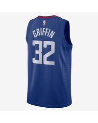 Nike - Blue Los Angeles Clippers 2017-2018 Blake Griffin Icon Edition T-shirt for Men - Lyst