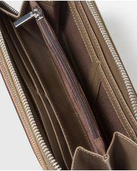 El Corte Inglés Wo Green Wallet With Zip