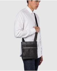 Tommy Hilfiger - Mens Black Messenger Bag for Men - Lyst