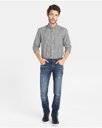 GREEN COAST - Blue Slim-fit Jeans for Men - Lyst