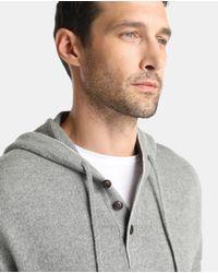 Polo Ralph Lauren - Gray Grey Merino Wool Sweater With Hood for Men - Lyst