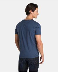 Tommy Hilfiger - Blue Short Sleeve T-shirt for Men - Lyst