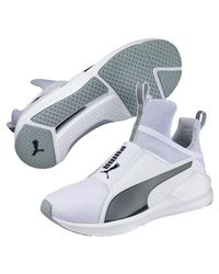 PUMA White Fierce Core Fitness/cross Training Shoes for men