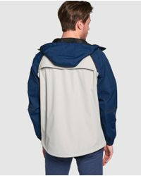 GREEN COAST | White Hooded Jacket for Men | Lyst