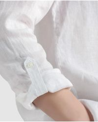 Tommy Hilfiger - Long Sleeve White Shirt - Lyst
