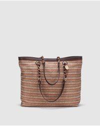 Gloria Ortiz | Multicolor Dumma Fabric Shopper Bag With Multicoloured Geometric Design | Lyst