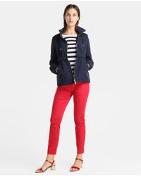 Yera - Red Skinny Trousers - Lyst