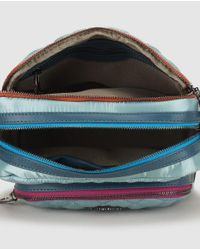 Robert Pietri - Wo Sky Blue Nylon Quilted Crossbody Bag With Zip - Lyst