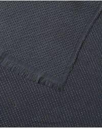 El Corte Inglés Gray Xl Basic Grey Scarf