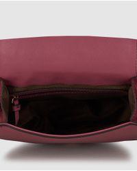 El Corte Inglés - Wo Pink Crossbody Bag With Rivets - Lyst