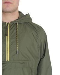 """Diesel Black Gold - Green """"jiway"""" Windbreaker In Technical Fabric for Men - Lyst"""