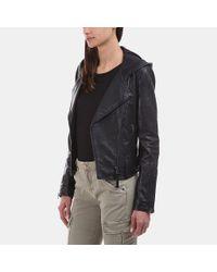 Mackage - Black Keegan Moto Leather Jacket - Lyst