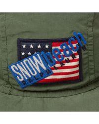 Polo Ralph Lauren - Green Gator Hat 'snow Beach' for Men - Lyst