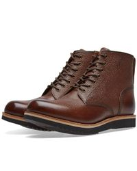 95dc660fff84f7 Lyst - Grenson Dawson Boot in Brown