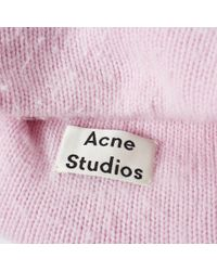 Acne - Pink Peele Beanie for Men - Lyst