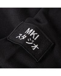 MKI Miyuki-Zoku - Black Arm Badge Sweat for Men - Lyst