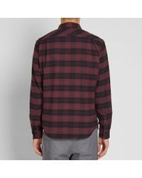 Wings + Horns - Red Flannel Utility Shirt for Men - Lyst