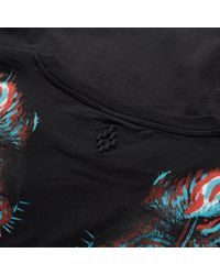 Marcelo Burlon - Black Tajo Tee for Men - Lyst