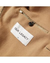 Our Legacy | Natural Unconstructed Classic Coat for Men | Lyst
