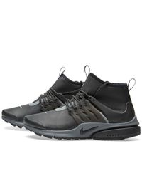Nike - Black W Air Presto Mid Utility for Men - Lyst