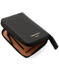 Common Projects - Black Zip Coin Case - Lyst