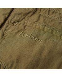Barbour - Green Crole Jacket for Men - Lyst