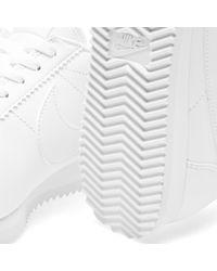Nike - White W Classic Cortez Leather - Lyst