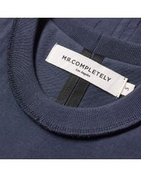 MR. COMPLETELY - Blue Pocket Tee for Men - Lyst
