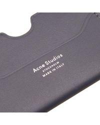Acne - Blue Elmas S Cardholder for Men - Lyst