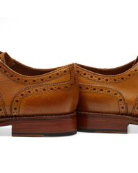 GRENSON - Brown Stanley Brogue for Men - Lyst