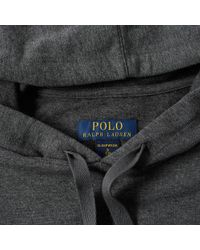 Polo Ralph Lauren - Gray Sleepwear Popover Hoody for Men - Lyst