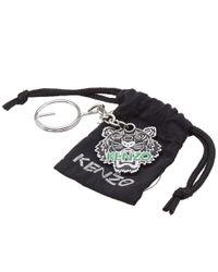 KENZO - Black Tiger Key Chain - Lyst