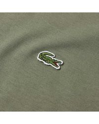 Lacoste - Green Classic Fit Tee for Men - Lyst
