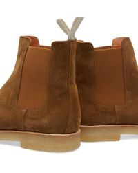 Common Projects - Brown Chelsea Boot for Men - Lyst