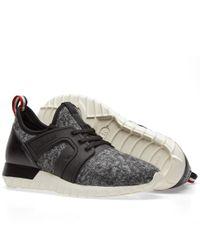 Moncler - Gray Emilien Sneakers for Men - Lyst