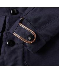 Bleu De Paname | Blue Double Counter Jacket for Men | Lyst