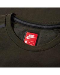 Nike - Green Bonded Tee for Men - Lyst