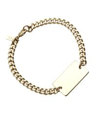 A.P.C. - Metallic Lord Bracelet for Men - Lyst