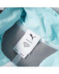 PUMA - Blue X Diamond Supply Co. Wind Jacket for Men - Lyst