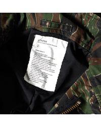 (w)taps - Green M-65 Jacket for Men - Lyst