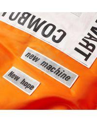 Helmut Lang - Orange X Travis Scott Patch Bomber Jacket for Men - Lyst