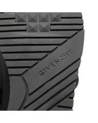 Givenchy - Black Active Runner Elastic Sneaker for Men - Lyst