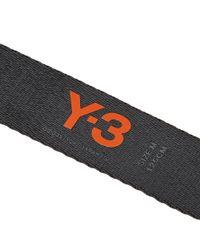 Y-3 - Black Yohji Belt for Men - Lyst
