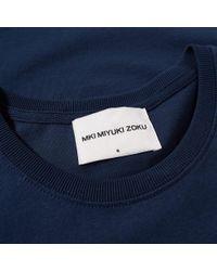 MKI Miyuki-Zoku - Blue Aw17 Signature Series Tee for Men - Lyst
