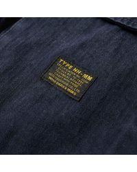Neighborhood - Blue Military Utility Shirt for Men - Lyst