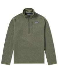 Patagonia - Green Better Sweater 1/4 Zip Jacket for Men - Lyst