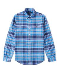 Polo Ralph Lauren - Blue Slim Fit Button Down Oxford Shirt for Men - Lyst