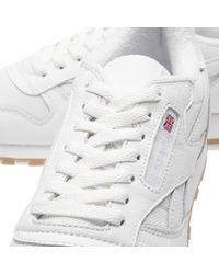 Reebok - White Classic Leather Estl for Men - Lyst