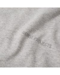 Norse Projects - Gray Niels Small Logo Tee for Men - Lyst